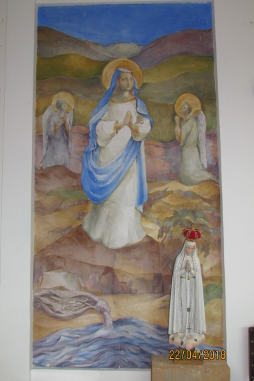 Afresco da Imagem de Nossa Senhora